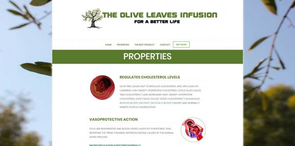 Oliveleafinfusion